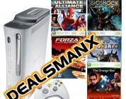 DEALSMANX: XBOX 360 w/ 5 Games for $399.99