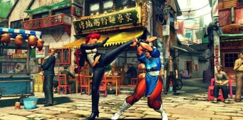 Street Fighter IV: Screenshots!! Guile, E Honda Chunli…