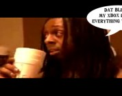 Lil Wayne Tells KRS One His Modded Xbox 360 Does Everything