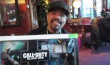 Watch Ice-T Unbox Call of Duty Black Ops Prestige Edition