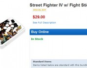 Street Fighter IV with Fight Stick for $29