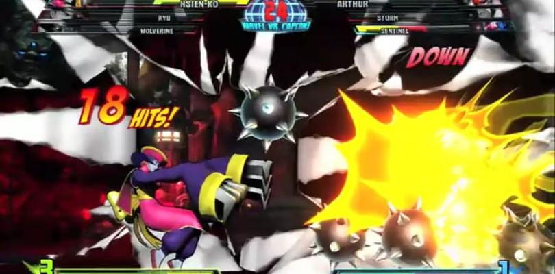 Marvel vs Capcom 3: Hsien-Ko and Sentinel Gameplay