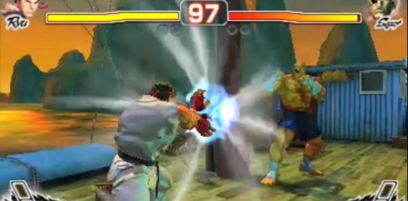 Super Street Fighter IV 3DS Gameplay Video