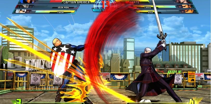 Marvel vs Capcom 3 Costume Pack 1 DLC Screens