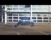How to park an Anti-Grav Racer