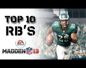 Madden NFL 13 Top 10 Overall RBs