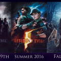 Resident Evil 4, 5, 6 RE-Release for PS4, Xbox One