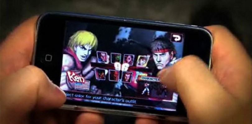 Street Fighter IV iPhone Gameplay Video